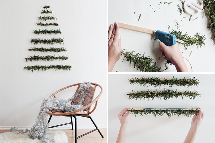 DIY Modern Christmas Tree Template # 01