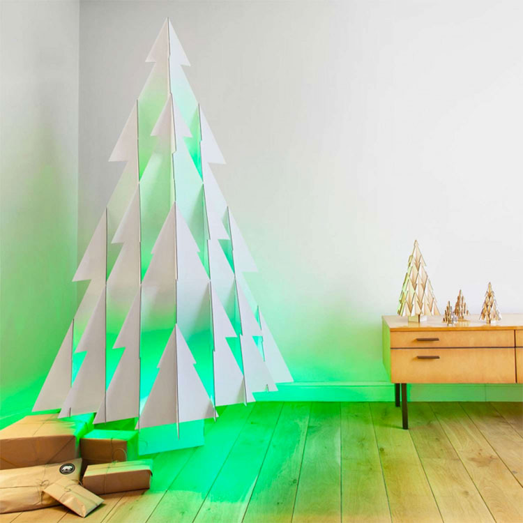 Modern Design Christmas Tree Template # 03