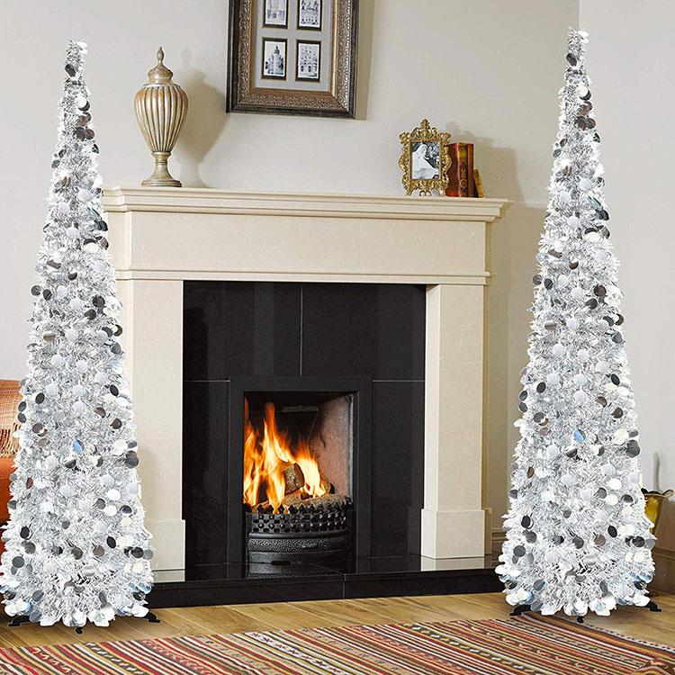Modern Design Christmas Tree Template # 01