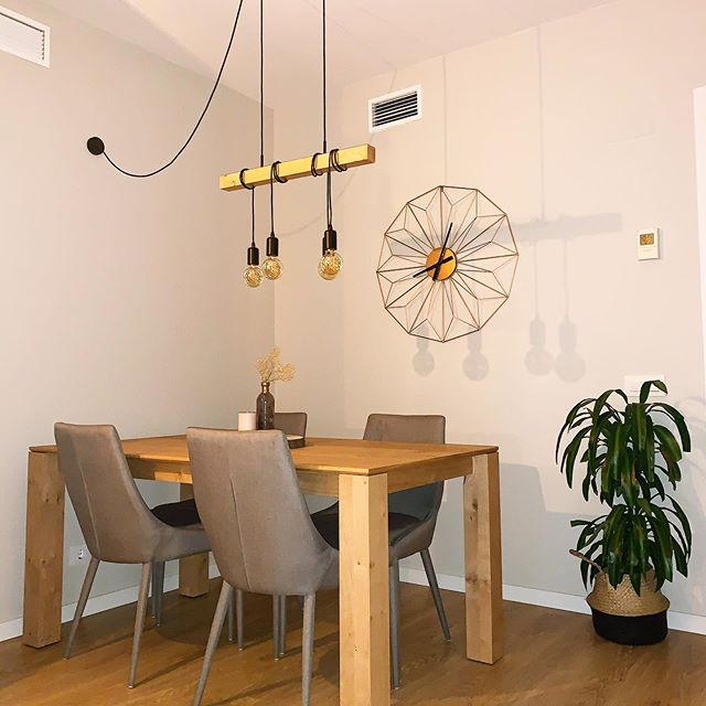 The design of the dining room