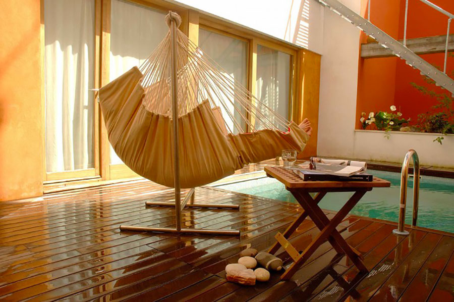 Free-standing hammock with support n.14