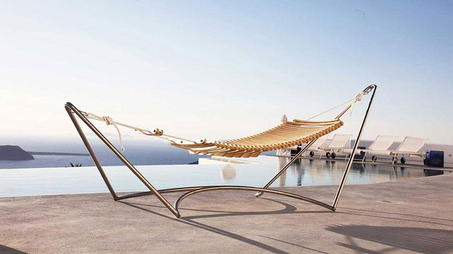Free-standing hammock with support n.05