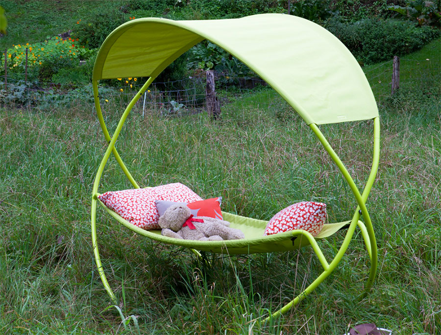 Free-standing hammock with support n.06