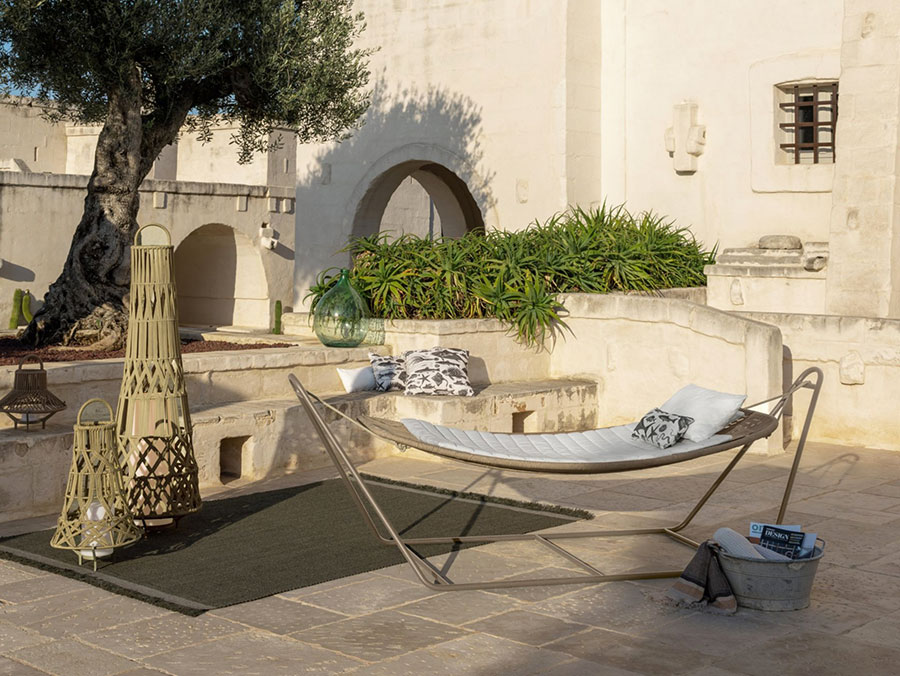Freestanding hammock with support n.  19