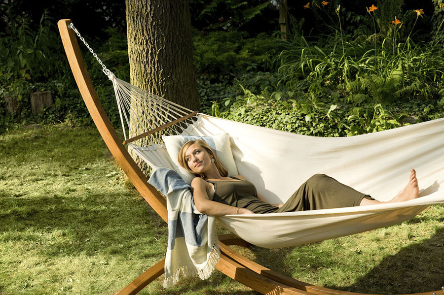 Freestanding hammock with support n.  18