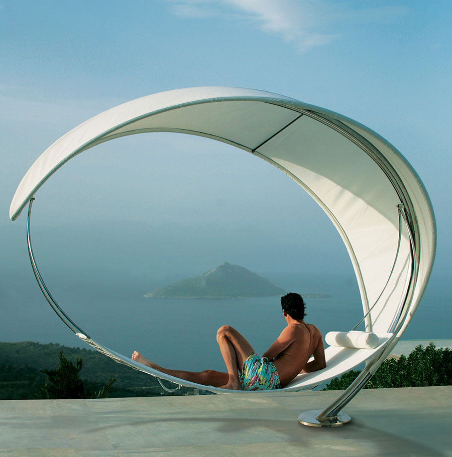 Free-standing hammock with support n.02