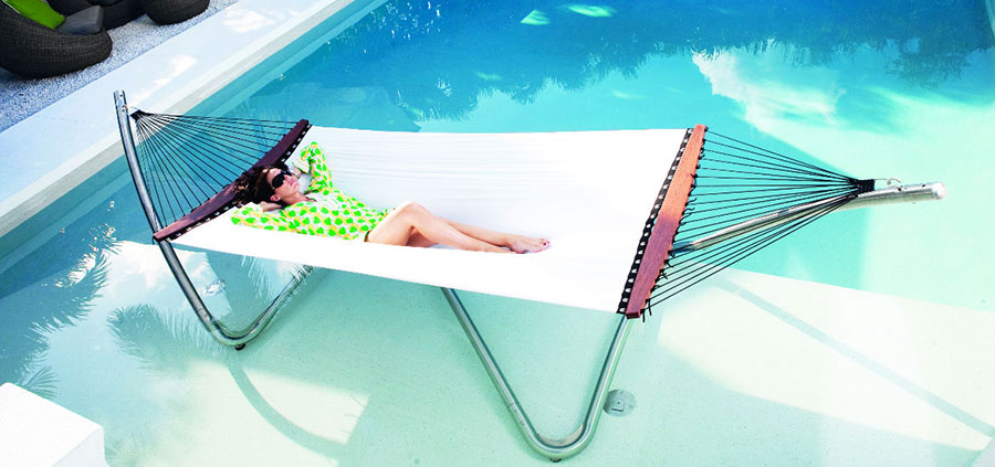 Free-standing hammock with support n.07