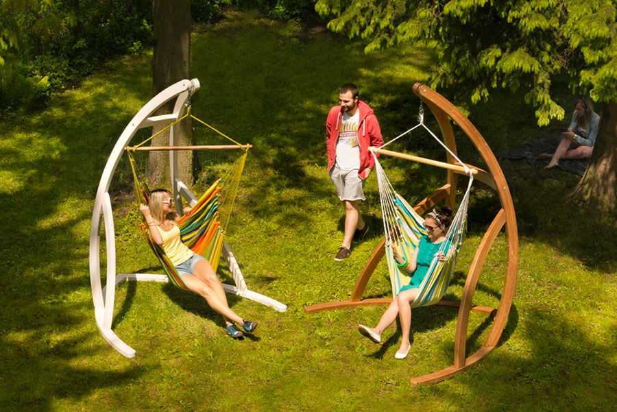 Free-standing hammock with support n.11