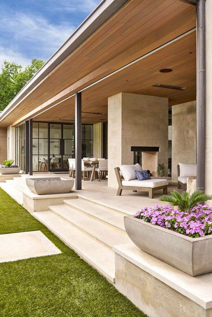 Ideas for modern porch n.37
