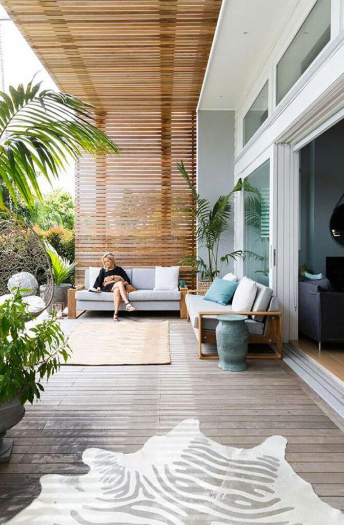 Ideas for modern porch n.38