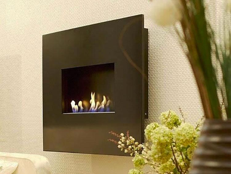 Built-in bioethanol fireplace model n.18