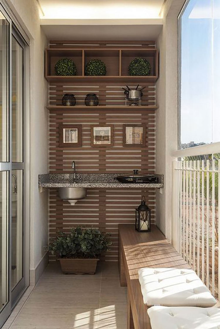 Ideas for decorating balconies n.01