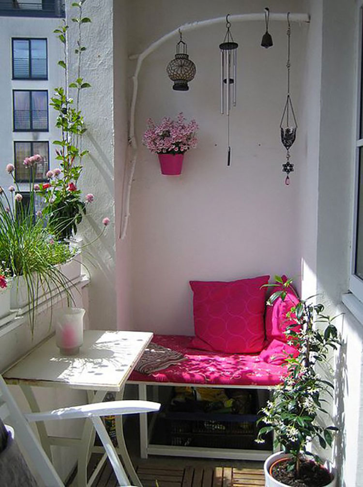 Ideas for decorating balconies n.05