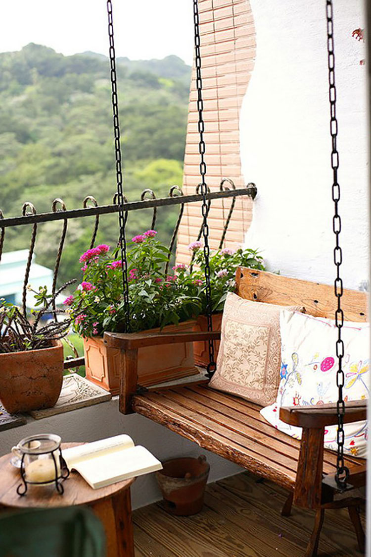 Ideas for decorating balconies n.02