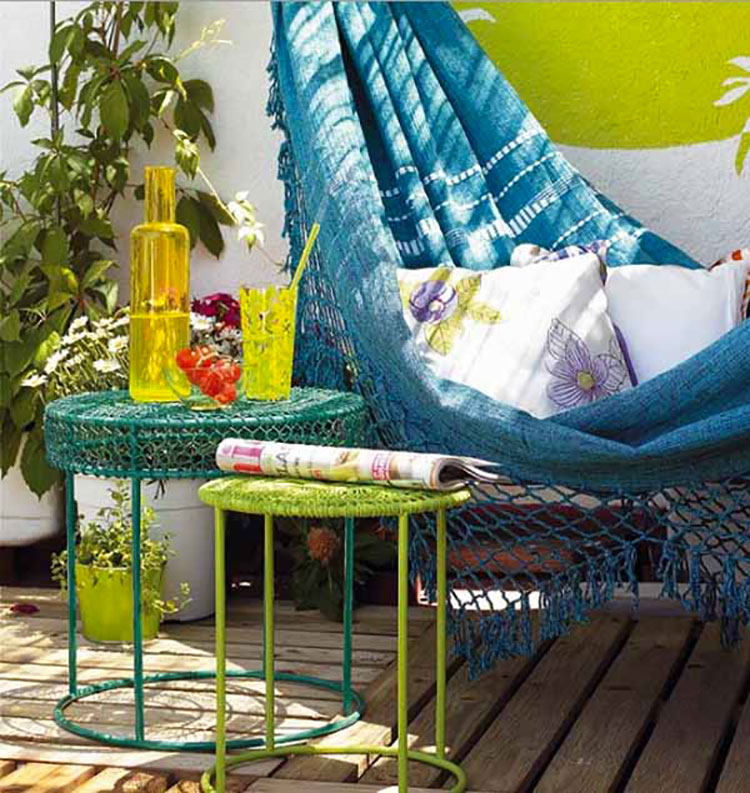 Ideas for decorating balconies n.04