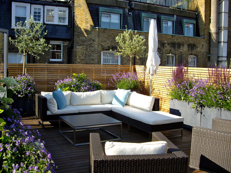 Ideas for decorating balconies n.12