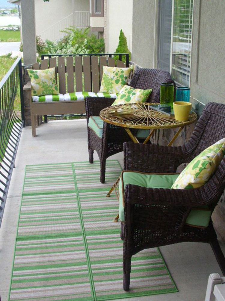 Ideas for decorating balconies n.19