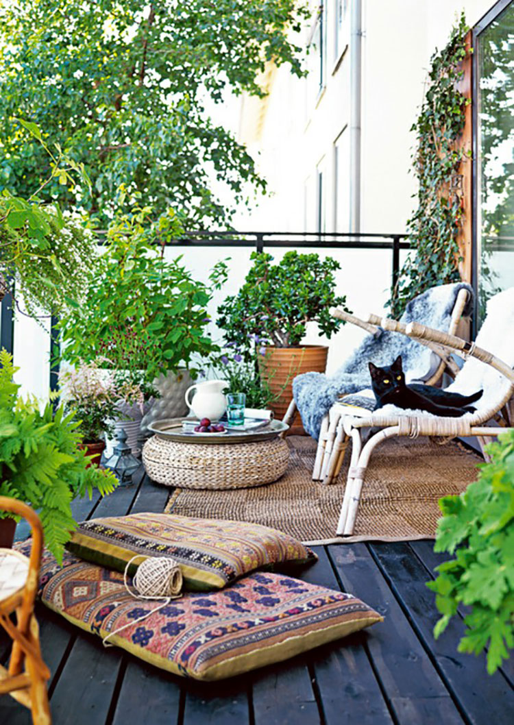 Ideas for decorating balconies n.30