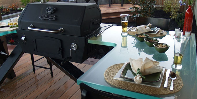 Outdoor kitchen with a modern and functional design n.05
