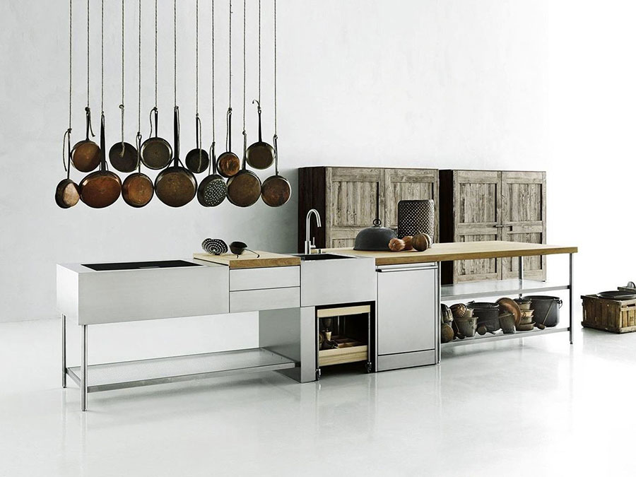 Outdoor kitchen with a modern and functional design n.26