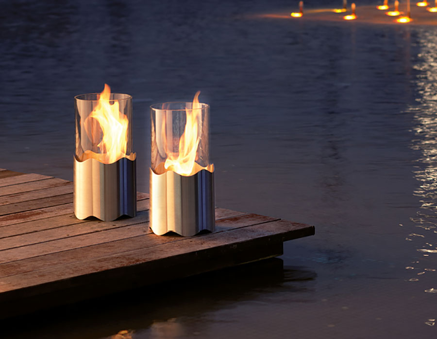 Acquafuoco table bioethanol fireplace n.06