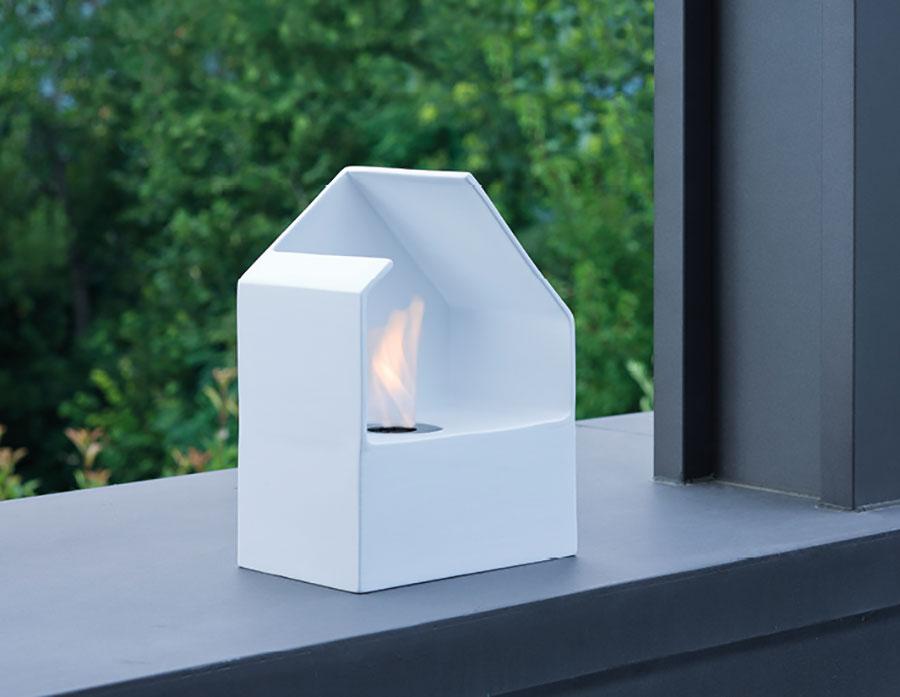 Acquafuoco table bioethanol fireplace n.03