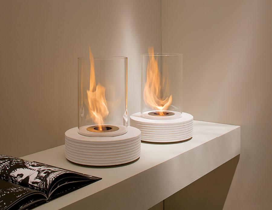 Acquafuoco table bioethanol fireplace n.05