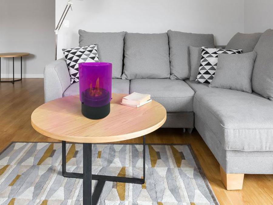 Pure Line table bioethanol fireplace n.06