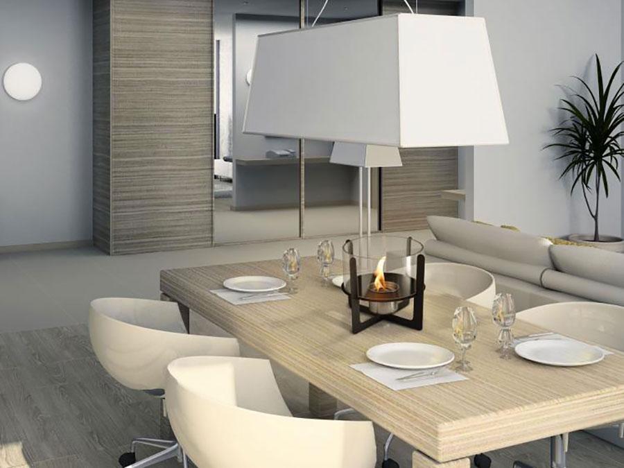 Pure Line table-top bioethanol fireplace n.02