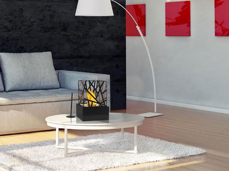 Pure Line table bioethanol fireplace n.01