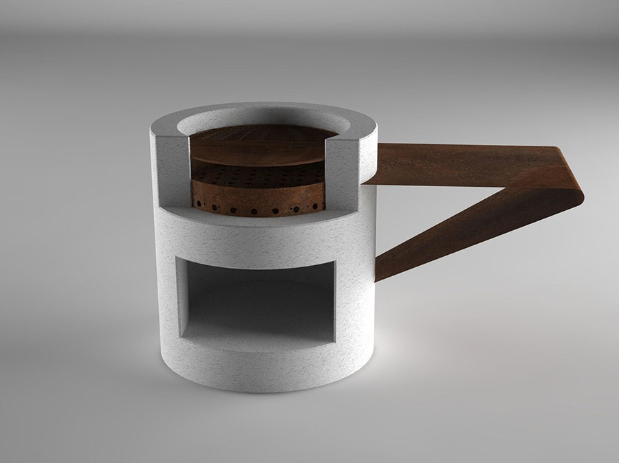 Modern design barbecue model # 13