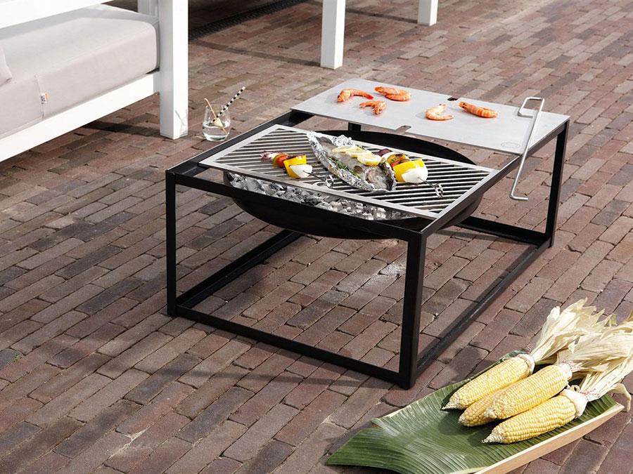 Modern design barbecue model # 12