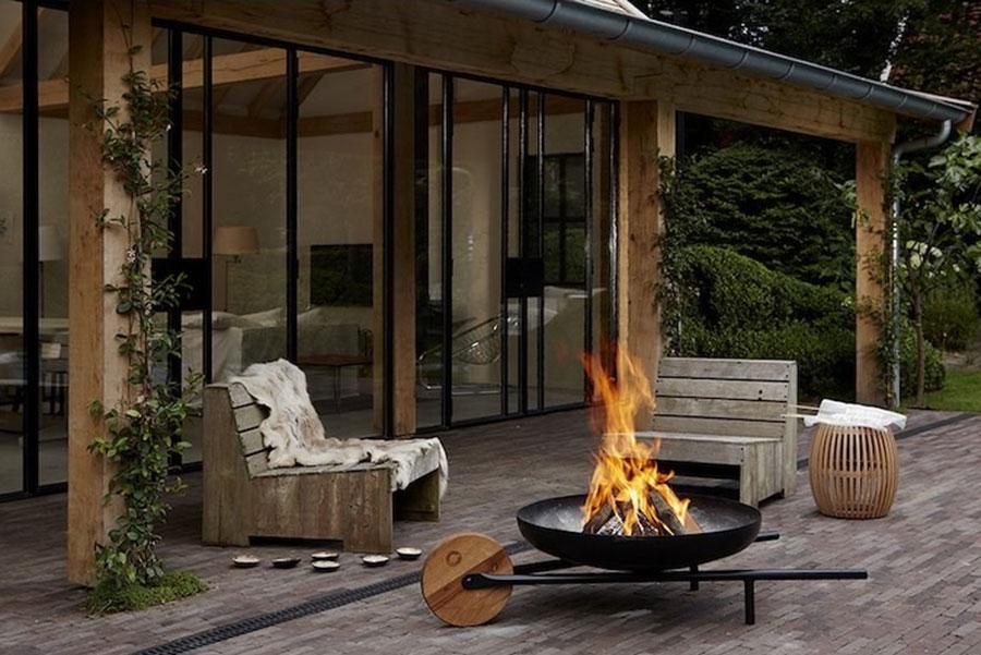 Modern design barbecue model # 11