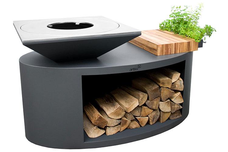 Modern design barbecue model # 22