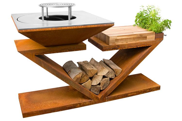 Modern design barbecue model # 24