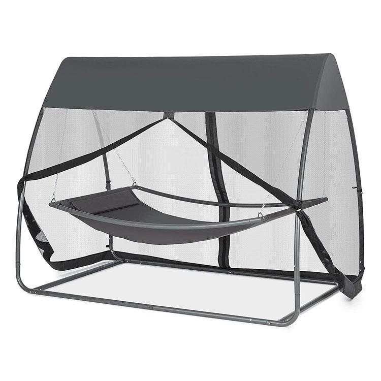 Free-standing garden hammock with parasol n.03