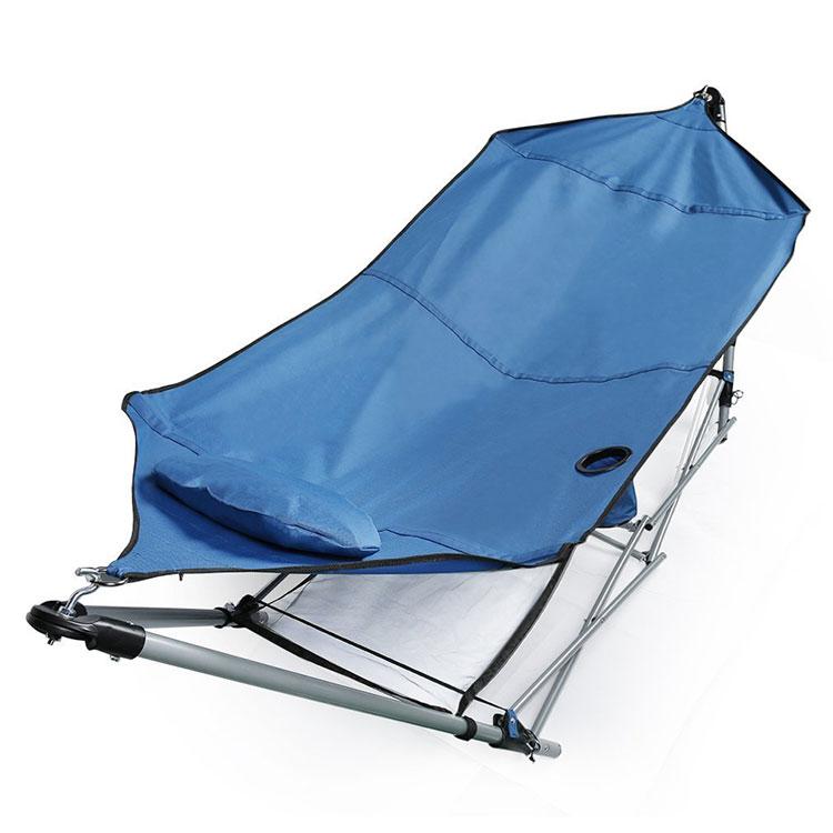 Double free-standing garden hammock n.03