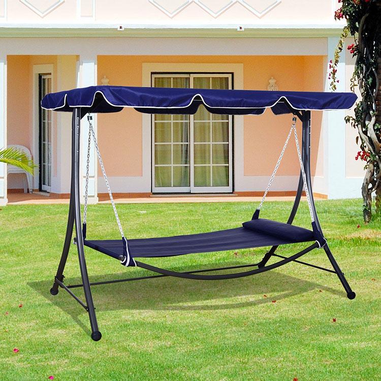 Free-standing garden hammock with parasol n.05