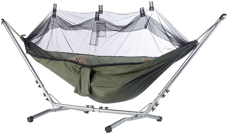 Free-standing garden hammock for camping n.01