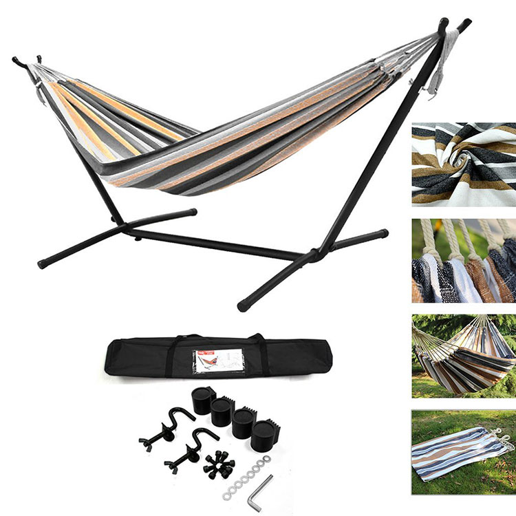 Free-standing garden hammock for camping # 02