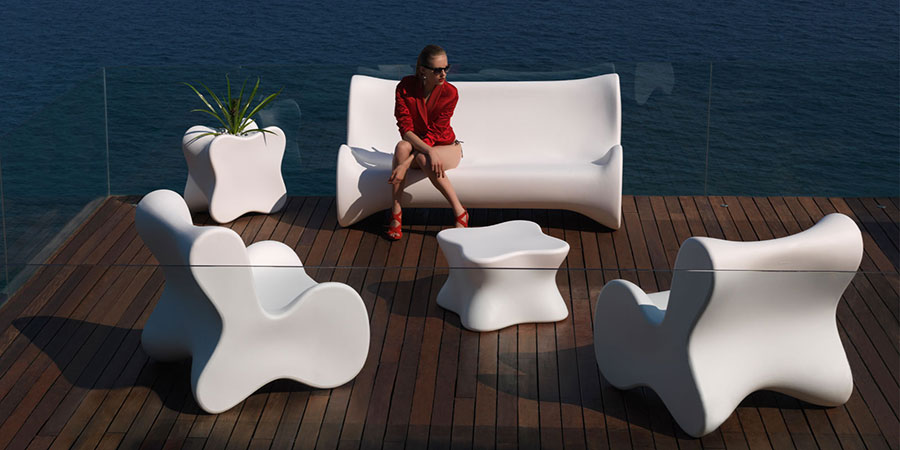 Ideas for embellishing a terrace with elements of furniture n.8