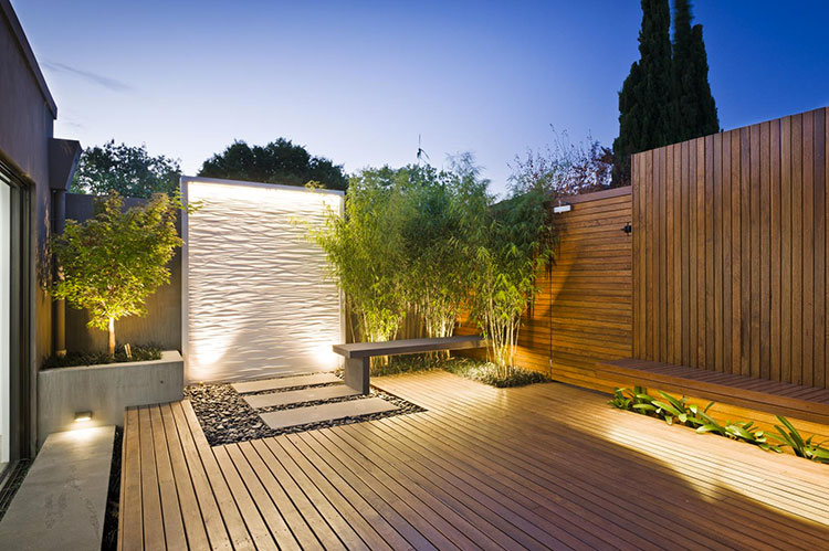 Ideas for embellishing a terrace with lights n.2