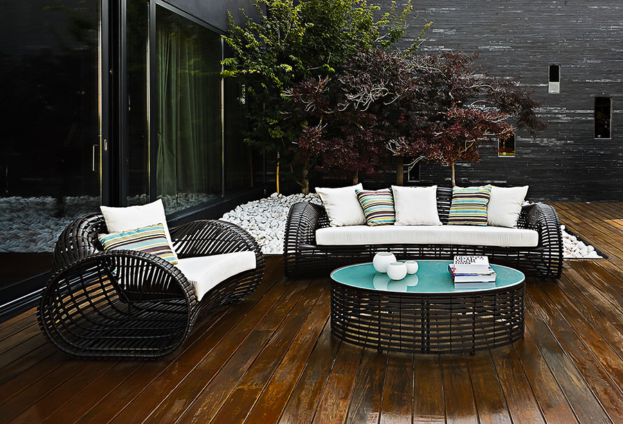 Ideas for embellishing a terrace with furniture elements n.6