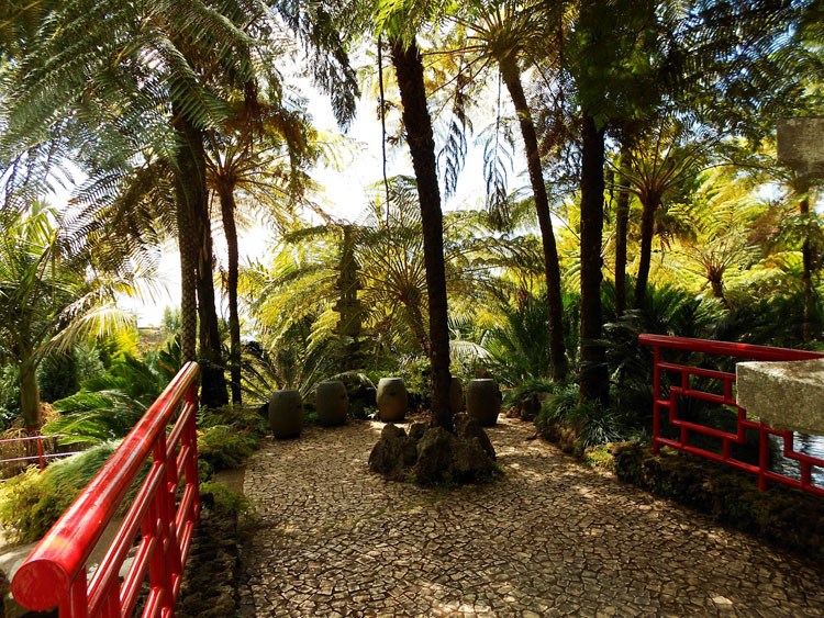 Japanese style zen garden photo # 04