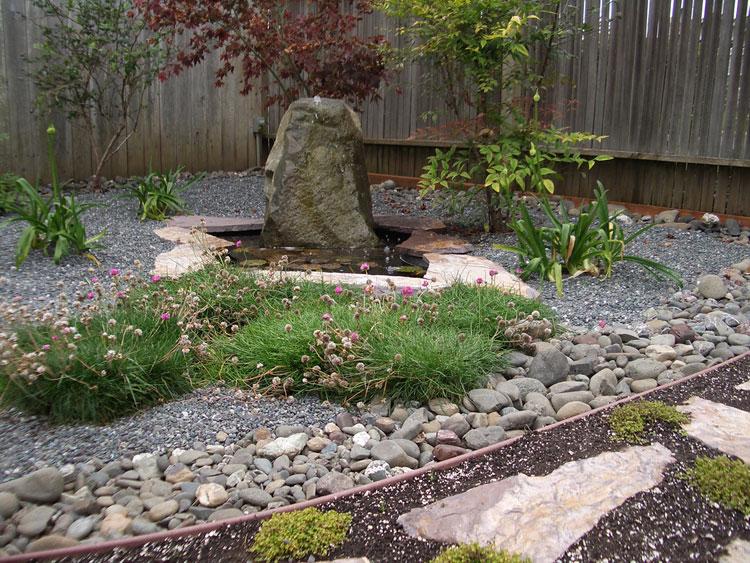 Japanese style zen garden photo # 06