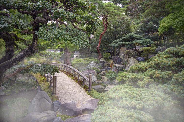 Japanese style zen garden photo # 07