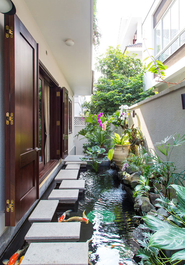 Japanese style zen garden photo # 23