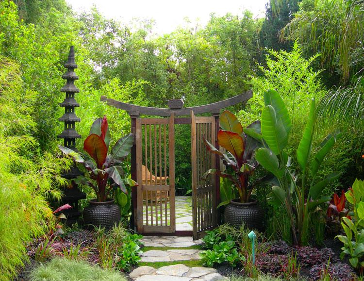 Japanese style zen garden photo # 27