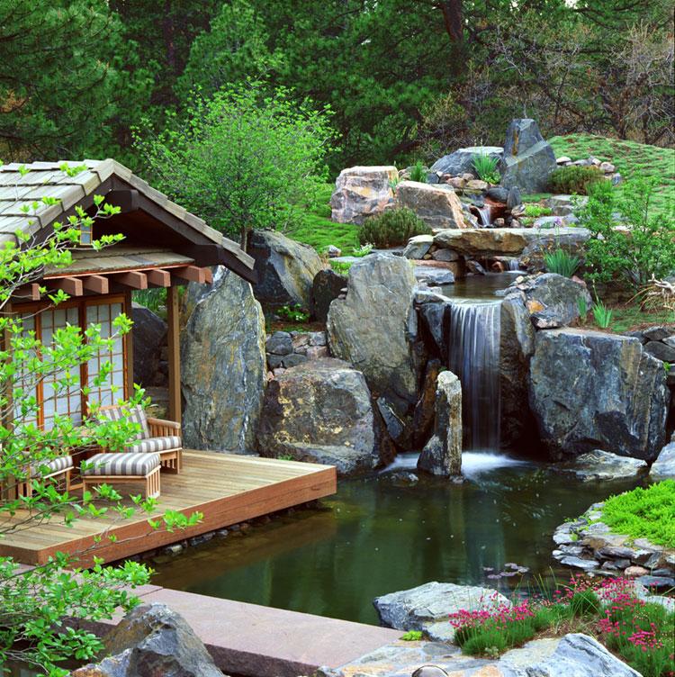 Japanese style zen garden photo # 26