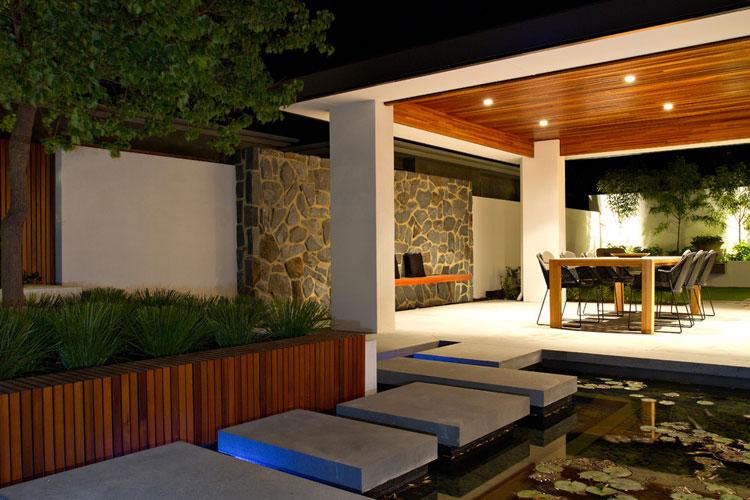 Japanese style zen garden photo # 22